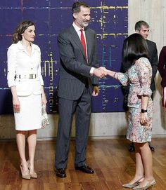 Queen Letizia and King Felipe visit the Canary Islands