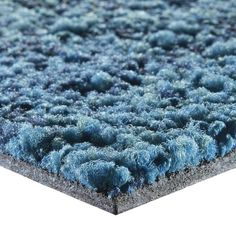 Tufted Carpet Tile Synthetic Loop Pile Low Voc Net Effect