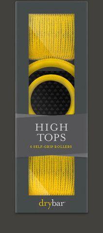 HIGH TOPS self-grip rollers | dry bar