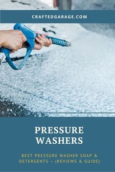 If you want your yard, home, and car spick and span, you need the best pressure washer soap & detergent! Find the most reliable unbiased information here. Power Washing House, Pressure Washing House, Pressure Washer Accessories, Best Pressure Washer, Get Rid Of Mold, Cleaning Wood, Small Engine, Wooden Decks, Hard Water