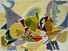 cavetocanvas:    Lee Krasner, Still Life on a Table, 1938