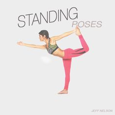 Build strength and set the foundation for a safe yoga practice. Get step-by-step instructions and reap the benefits of standing yoga poses here. My favorite pose! Running Workouts, Easy Workouts, Standing Yoga Poses, Yoga For Balance, Yoga Dance, Iyengar Yoga, Yoga Poses For Beginners, Yoga Meditation, Yoga Fitness