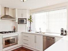 U-shaped kitchen designs …