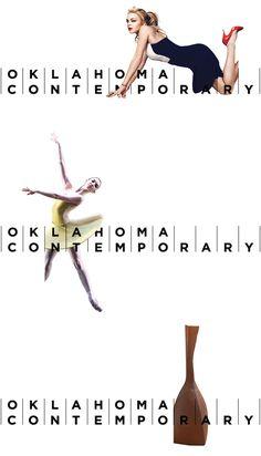 Oklahoma Contemporary Logo and Identity