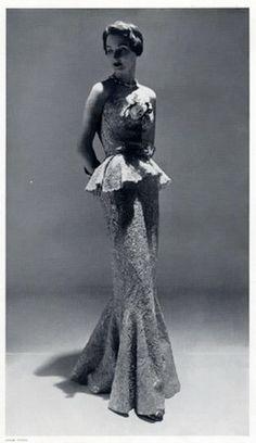 Balenciaga 1955 Evening Gown