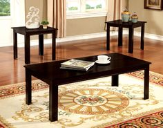 Furniture Of America Coffee Table & End Tables 3Pc.Set CM4105EX-3PK