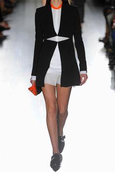 Victoria Beckham|Silk and wool-blend jacket |NET-A-PORTER.COM