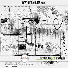December - Erica Zwart Brushes