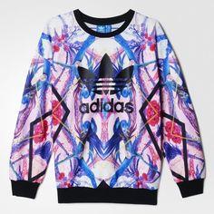adidas optic bloom sweatshirt #adidas #adidaswomen #adidassweatshirt