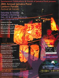 Annual Jamaica Plain Lantern Parade