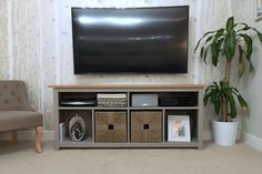Living Room Shelves Around TV Ikea Hacks.IKEA Storage Hacks That Actually Look Good. Faux Built In: Billy Bookcase Ikea Hack HeartHavenHome . Faux Built In: Billy Bookcase Ikea Hack Ikea Fireplace . Scandi Living Room, Living Room Shelves, Classic Living Room, Living Room Tv, Living Room Furniture, Dining Room, Ikea Tv Console, Tv Stand Sideboard, Console Tables