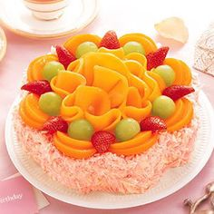 look great. exotic cake