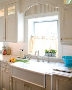 Subway Tile And Kitchen Sink. Love The Lights Under The Cabinets.