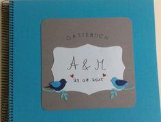 Gästebuch mit 'Stampin up'