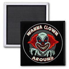 Sure, meet me in a dark alley at midnight... #evil_clowns #clowns