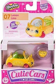 New Shopkins Cutie Cars Jelly-A-Gogo Season 4 QT4-09 with Mini Shopkin!