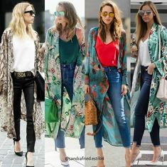 56 Super Ideas For How To Wear Kimono Cardigan Outfits Street Styles Kimono Cardigan Outfit, Cardigan Fashion, Hijab Fashion, Fashion Outfits, Womens Fashion, Outfits 2016, Trendy Outfits, Look Kimono, Mode Abaya