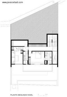 Arquitectura de Casas: Moderna casa de playa de hormigón en Perú.