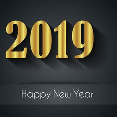 new year 2019 black gold image screensaver wallpaper happy new year images happy new year