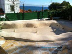 1000 images about piscinas tropicales on pinterest goa - Piscina de arena compactada ...