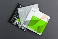3 Catalogues for German Design Council, Covers, by Bergmann Studios 2009