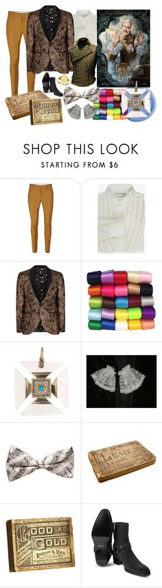 """""""Beauty and the Beast - Cadenza"""" by victoria-styling ❤ liked on Polyvore featuring Topman, Alexander McQueen, Yves Saint Laurent, Kevin Jewelers, men's fashion and menswear"""