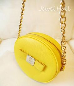 New Arrival Mailbox Style Bright Yellow Fashion Lady's Bag: jewelhall.com