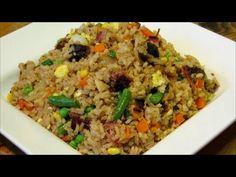 Pork Fried Rice Recipe-How To Make Pork Fried Rice-Asian Food Recipes - YouTube