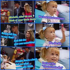 Full House Such a great show Full House Memes, Full House Funny, Full House Quotes, Funny Quotes, Funny Memes, Hilarious, Jokes, Michelle Tanner, Funny Text Messages
