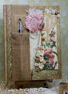 Altered Journal and Altered RSVP Pen | Injoy Stampin Handmade Cards/Mini Albums