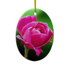 Rosy Pink Ornament