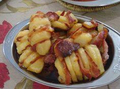 Receita de Batata Laminada com bacon - Show de Receitas