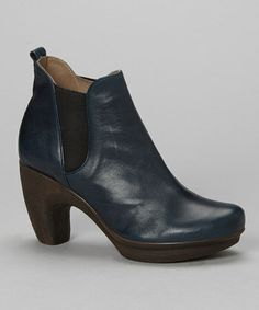Take a look at this Blue Alison Bootie by Eric Michael by Laurevan on #zulily today!