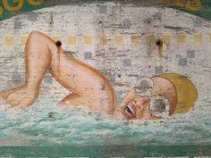 #Swimmer at Govanhill Baths, #Glasgow, #Scotland