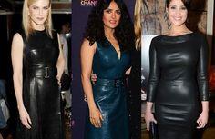 Celebrities in leather - Badmademoiselle