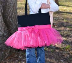 How to make tutu tote. Hopefully this has instructions! So cute