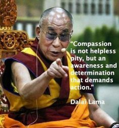 Truth be told... Have compassion for the least of our brethren in the same way that you would like to have compassion shown to you if you were in their place.