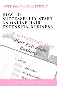 Don't know how to start a hair or where to start this Checklist will help you take your idea from idea to launch! Start Up Business, Starting A Business, Business Tips, Online Business, Hair Color Glaze, Business Ideas For Women Startups, Makeup And Hair Salon, Business Hairstyles, Good Hair Day