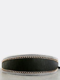 Bejeweled Chain Belt GOLD -SheIn(Sheinside)