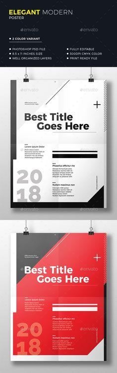 Clean Minimal Poster