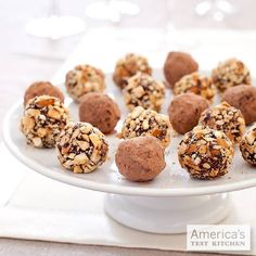 Why not make creamy, professional-quality (and easy!) chocolate truffles at home this Valentine's Day?