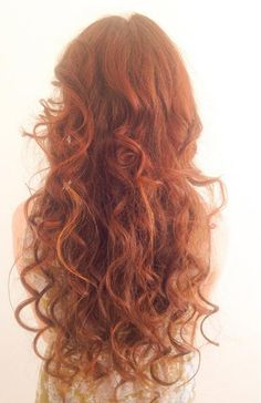 Messy Red Curls