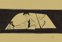 Drive, Nightcall by drawrstubbs
