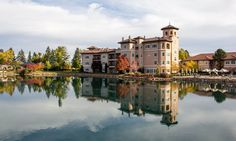 Luxury Colorado Resorts   Colorado Hotels   The Broadmoor Great location and golf course. Good for a conference.