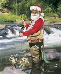 tom browning santa's time off - Google Search Cowboy Christmas, Noel Christmas, Father Christmas, Christmas Pictures, Vintage Christmas, Christmas Balls, Christmas Projects, Southern Christmas, Tropical Christmas