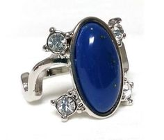 anel lapis lazuli