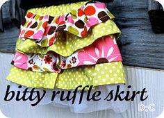 Bitty Ruffle Skirt