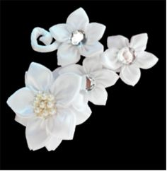 Headpiece/ Hair piece, perfect for formal occasions such as weddings Hair Barrettes, Hair Clips, Stunningly Beautiful, Hair Piece, Headpiece, Brooches, Satin, Weddings, Formal