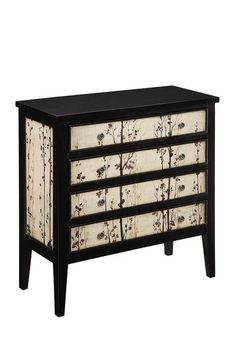 would be a great idea for an unfinished ikea dresser & some cool wallpaper or stencil