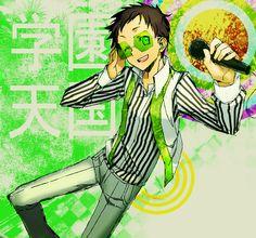 Tags: Anime, Microphone, Durarara!!, Ryuugamine Mikado, Rahit